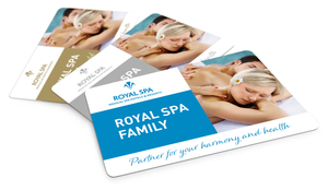 ROYAL SPA Family membership cards