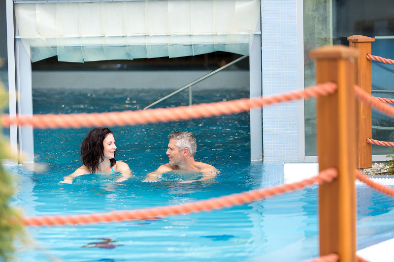Why is swimming and relaxing in thermal water so good for you