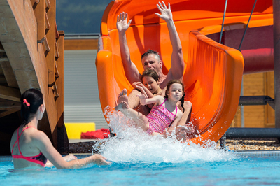 Bunter sommer im THERME LOSINY