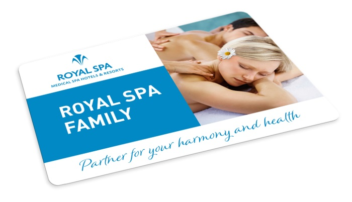 Standard card ROYAL SPA