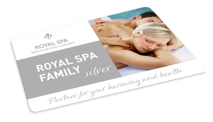 CEPEБPЯHAЯ KAPTA ROYAL SPA