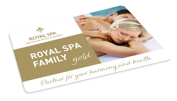 Gold card ROYAL SPA