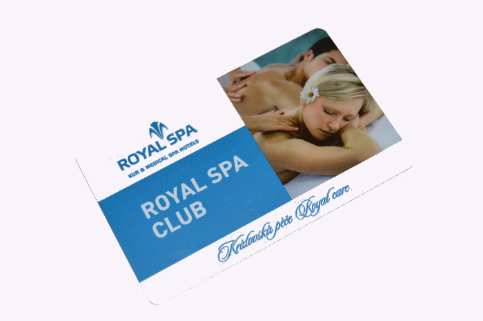 Standardní karta ROYAL SPA