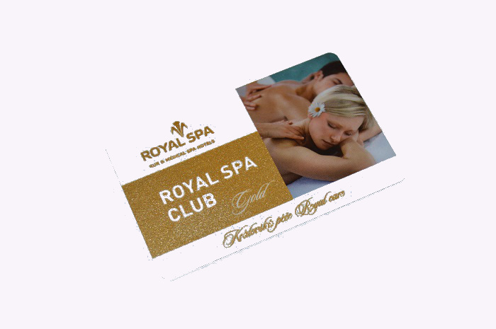 Zlatá karta ROYAL SPA