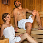 Water relaxation center - sauna
